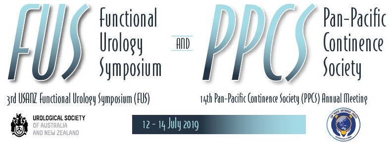 The conjoint 3rd USANZ Biennial Functional Urology Symposium and 14th Pan-Pacific Continence Society (PPCS) Annual Meeting