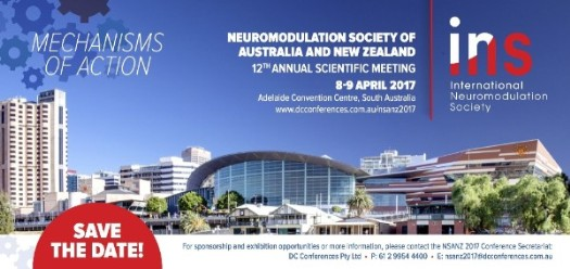 Neuromodulation Society of Australia and New Zealand 12th Annual Scientific Meeting