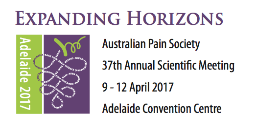 Australian Pain Society 37th Annual Scientific Meeting 2017