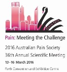 2016 Australian Pain Society 36th Annual Scientific Meeting